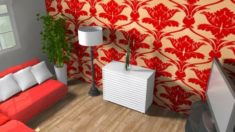 Small Living - Minimal - Living room - by AmyMcGrane