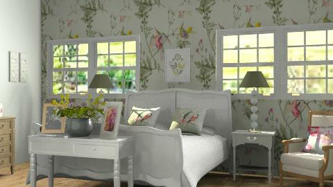 Country Bedroom 2 - Country - Bedroom - by yasemin04