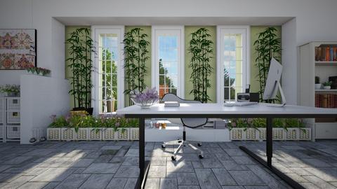 Urban Jungle Office - Office - by ElleP