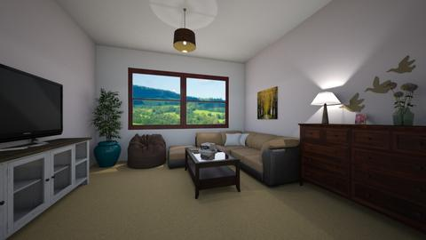 Years - Retro - Living room - by Twerka