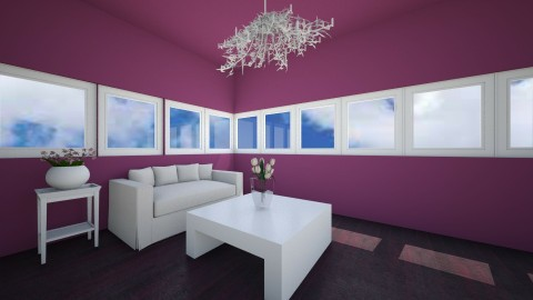 modern room - Living room - by blauwbeertje2002