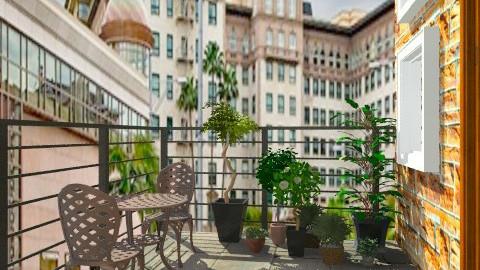 Balcony - Minimal - Garden - by milyca8
