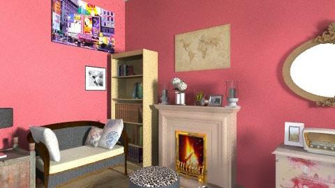 Inspiration - Vintage - Living room - by coccinelledu28