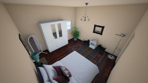 Simple - Bedroom - by ananasutovic