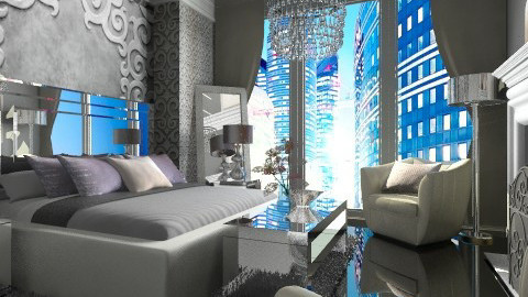 Glam - Glamour - Bedroom - by channing4