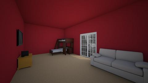 Bunk room - Kids room - by Alongmore13