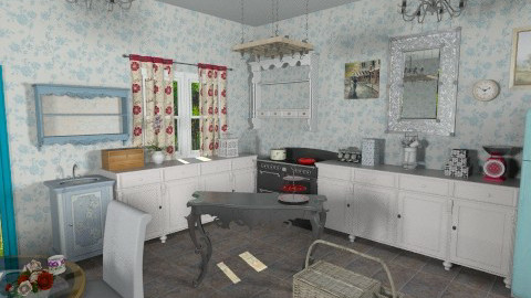 kitchen - Kitchen - by russian wolf