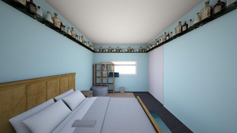 My room - Bedroom - by sadlee