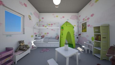 Elizabeth  - Kids room - by Laura DROUHARD_58