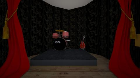 Itty Bitty Concert Venue - Retro - by paintingthevoid