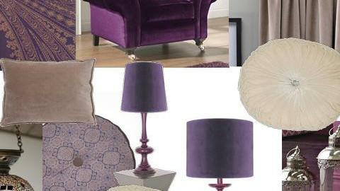 Paisley and Velvet - Eclectic - Living room - by karma kitten