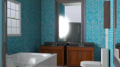 bathroom - Retro - Bathroom - by sonyalp