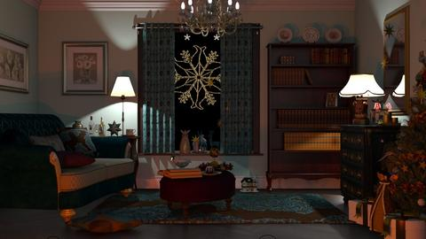 M_ C S - Living room - by milyca8