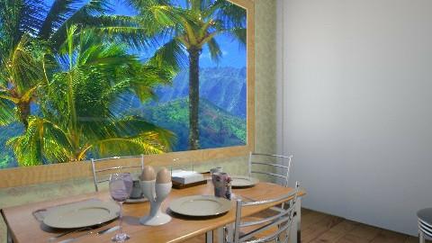 la comida 6 - Dining room - by HermioneJMalfoy