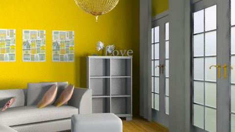 Summer oriented livingroom - Living room - by hennievanhennie