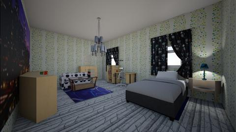 ROOM ni Pipit - Kids room - by katext