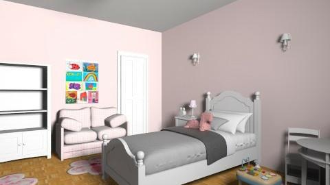 alexis 1 final room - Kids room - by javakimmy7