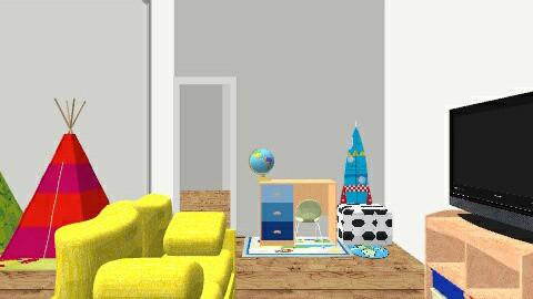 kid livingroom - Living room - by puchypup56