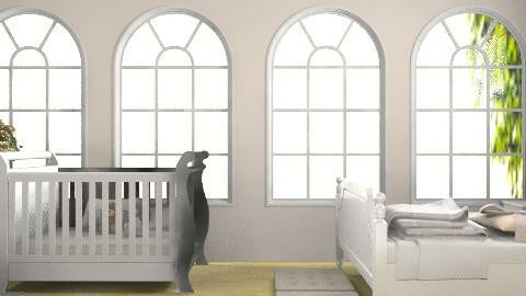 a baby is born. - Rustic - Bedroom - by Phoebe Ficer