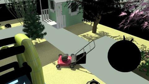 banjavčićeva terasa-vrt18boč.1. - Eclectic - Garden - by tatjana_novak