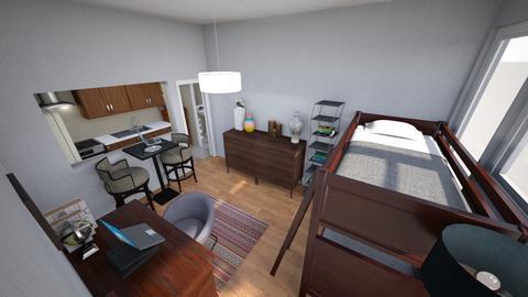 Roommates Studio 1 - Minimal - Living room - by KajsaRain
