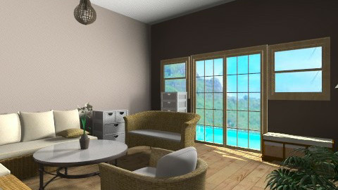 osier style - Rustic - Living room - by coccinelledu28