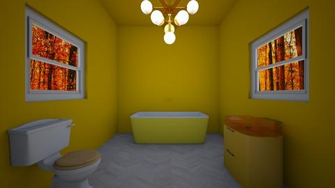 Yellow bathroom - Bathroom - by coolcat12345
