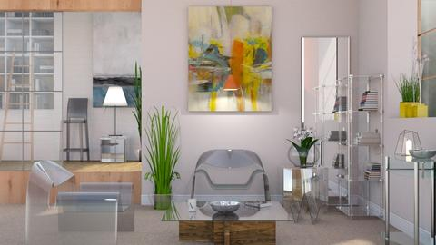 Transparent Interior - Modern - Living room - by Sally Simpson