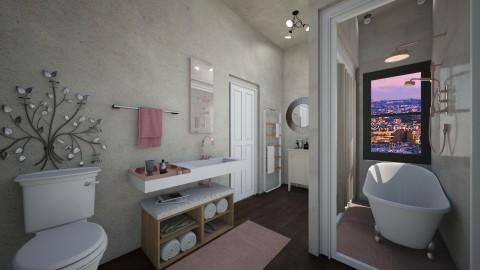 Hotel Bathroom - Glamour - Bathroom - by deleted_1504882301_leticiacamargo