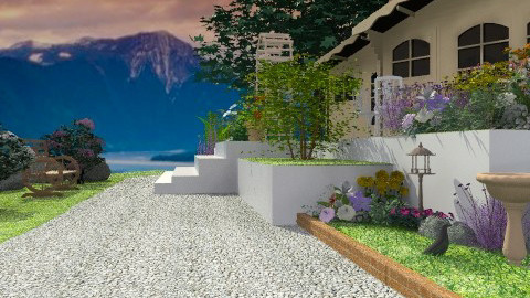 Mountain Retreat - Rustic - Garden - by Open Spaces
