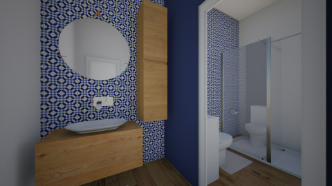 Meu banheiro - Bathroom - by daanilopess
