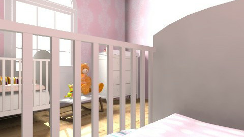 Twins Room - Feminine - Kids room - by journalelv