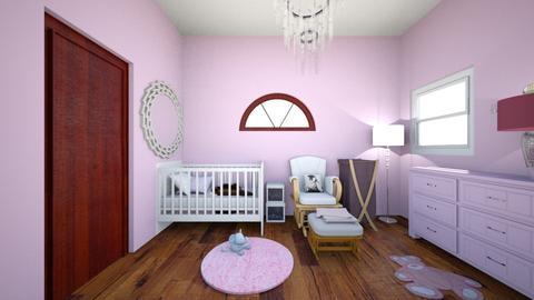 Pretty in Pink Nursery - Kids room - by Saphirre
