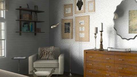 Loft - Master Bedroom 2 - Eclectic - Bedroom - by LizyD