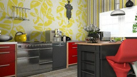 RYBW - Modern - Kitchen - by Anita Selgrad