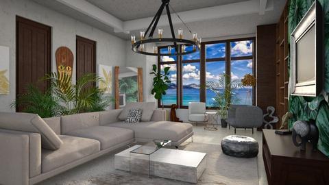 Template Baywindow Room - Living room - by yulamalina