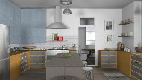 Random Spaces - Craftmans Kitchen - Eclectic - Kitchen - by LizyD