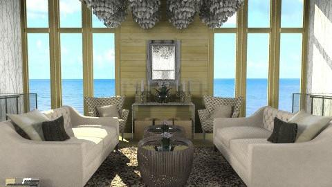 Elegance in Wood n Glass  - Classic - Living room - by ovchicha
