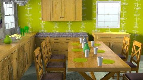 lime time - Classic - Kitchen - by pascaletheard