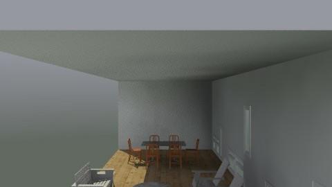 prescott deck plan view - Eclectic - Garden - by Kate Wills