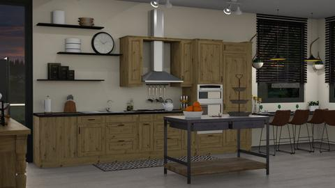 EK Artisan Kitchen - Kitchen - by Ebru Tekneci