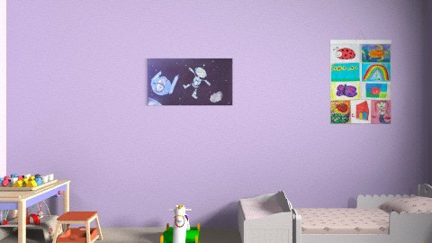 Shared Nursery - Classic - Kids room - by lbow2006