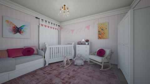 Pink Girly Nursery - by Tainaraa