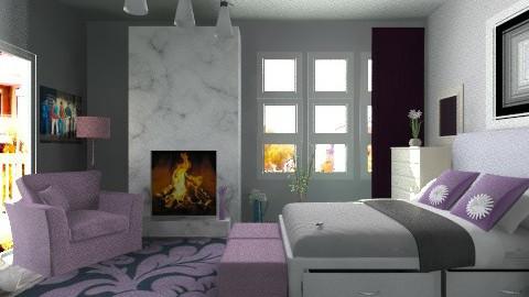 City blossom - Modern - Bedroom - by milyca8