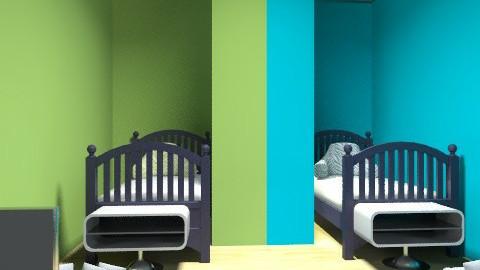 dobble kid room - Retro - Kids room - by bailbug