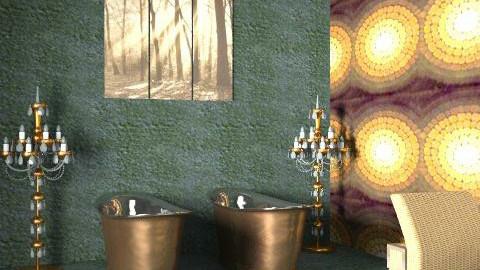 Glam - Glamour - Bathroom - by rimouza