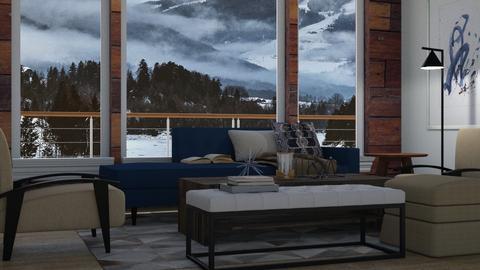 Alaskan Boathouse - Rustic - Living room - by millerfam