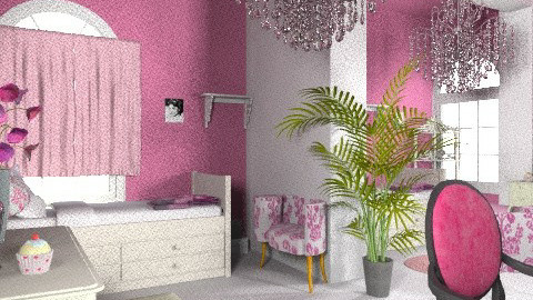 Twin teen room - Eclectic - Bedroom - by Rebeka Kri
