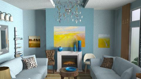 Notting Hill - Classic - Living room - by toadfool