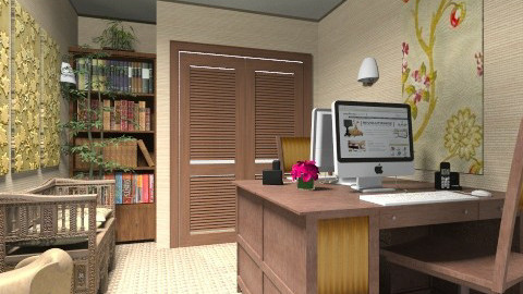 Office 2 - Eclectic - Office - by Theadora